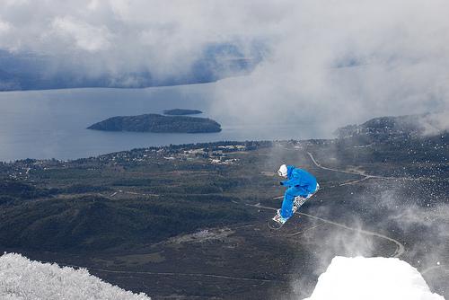 snowboard instructor course, Bariloche, Argentina