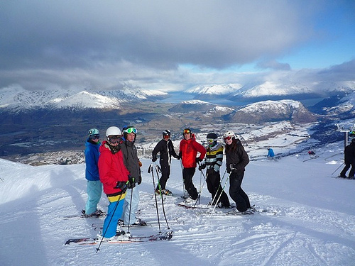 Coronet Peak Ski resort, New Zealand