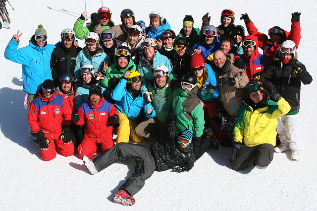 Peak Leaders Banff instructor course