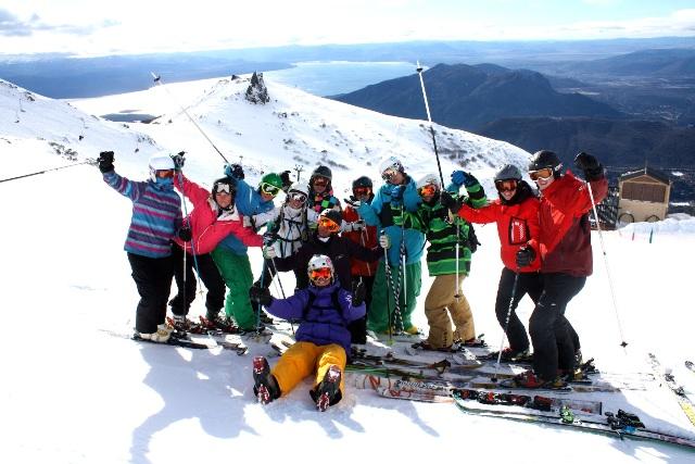 ski gap year Argentina