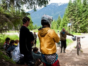 Whistler Bike Park Coaches Camp