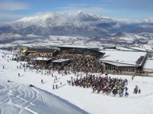 Coronet Peak Ski Resort, Snowboard, New Zealand, Queenstown