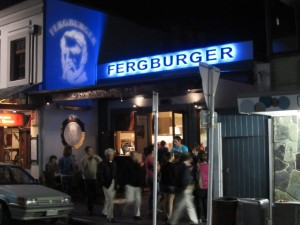Fergburger Queenstown, New Zealand