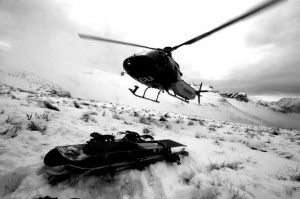 Harris Mountain Heliskiing