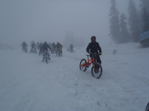 Whistler Alpine bike run