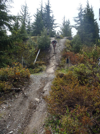 Whistler bike course