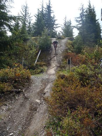 Whistler bike course