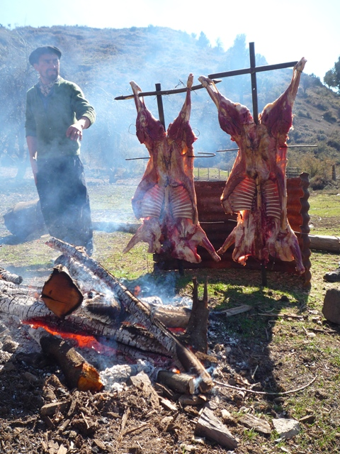 Asado, BBQ, Argentina, Bariloche, Peak Leaders