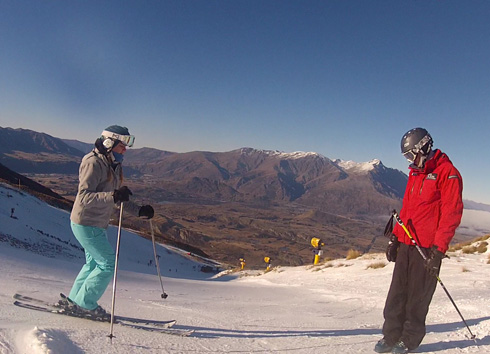 NZSIA level 1 exam, coronet Peak