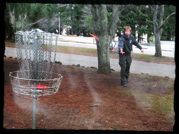 disc golf queenstown, New Zealand
