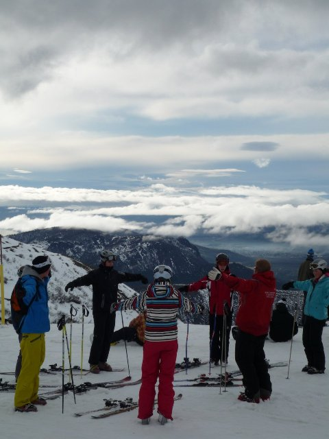 ski gap year instructor course