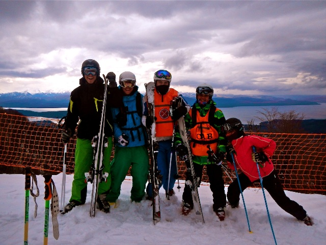 ski instructor course Argentina, ski gap year
