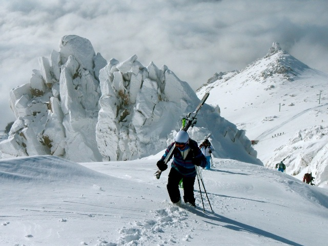 cerro catedral, backcountry ski, gap year ski, ski instructor course