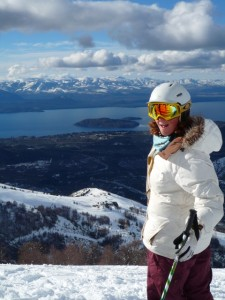 Charlotte Vantreen, ski instructor course