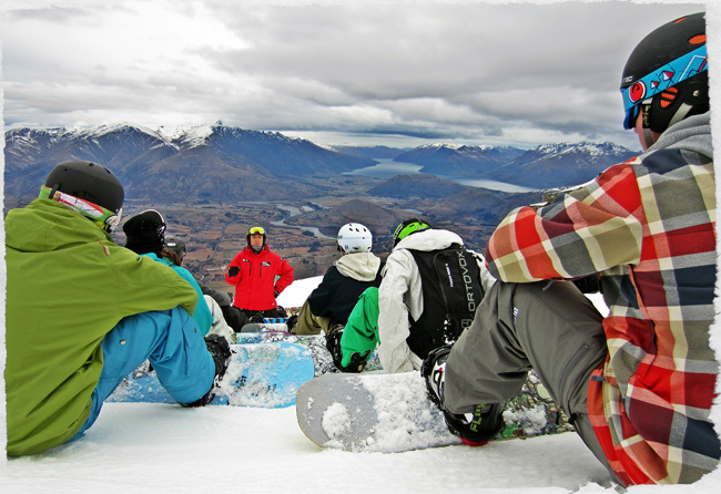 Snowboard instructor course New Zealand