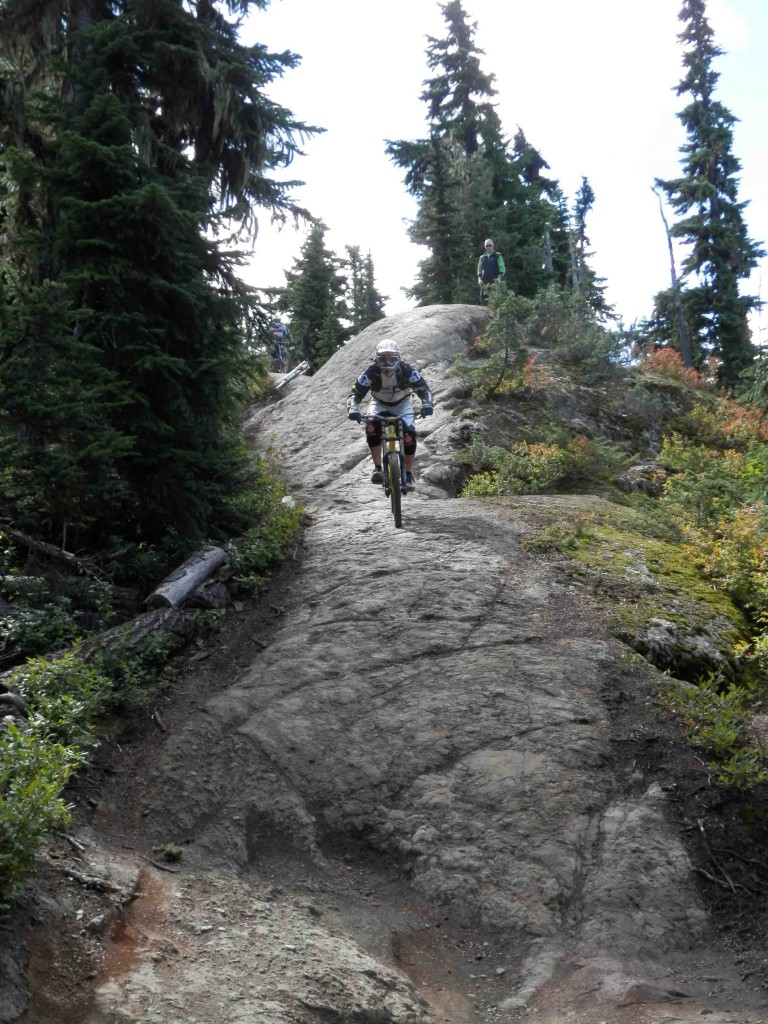 Whistler Mountain Bike course