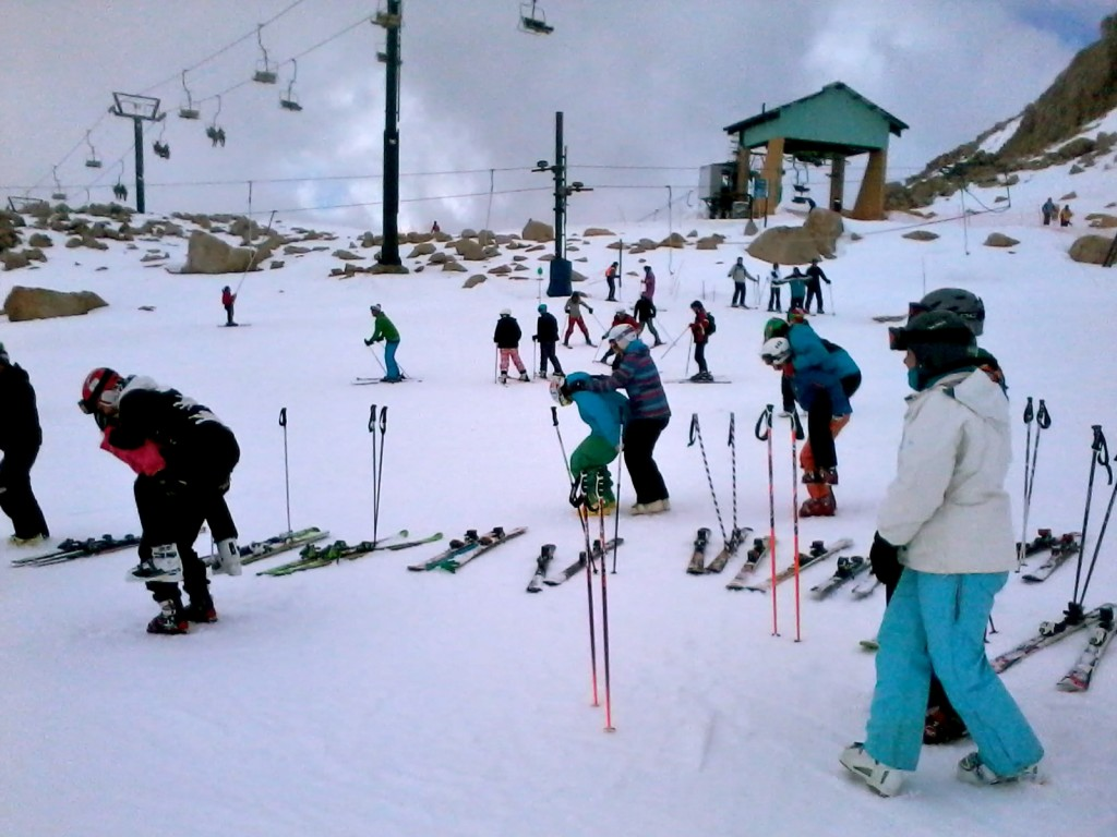 ski instructor Bariloche
