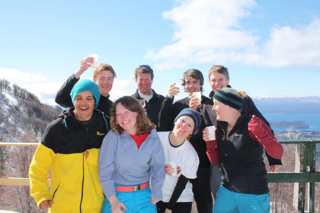 snowboard gap year argentina