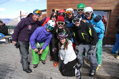 gap year ski course