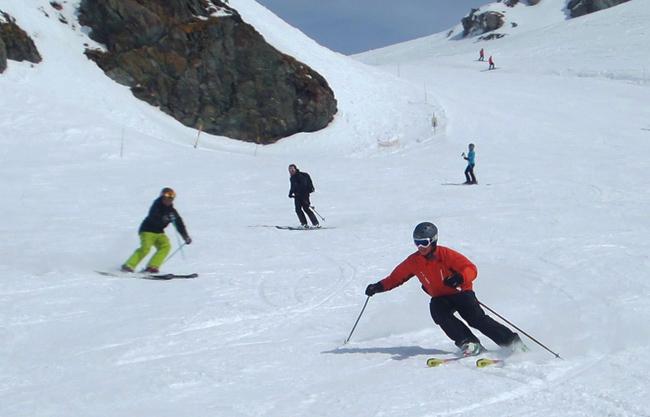 Verbier ski instructor course late season week