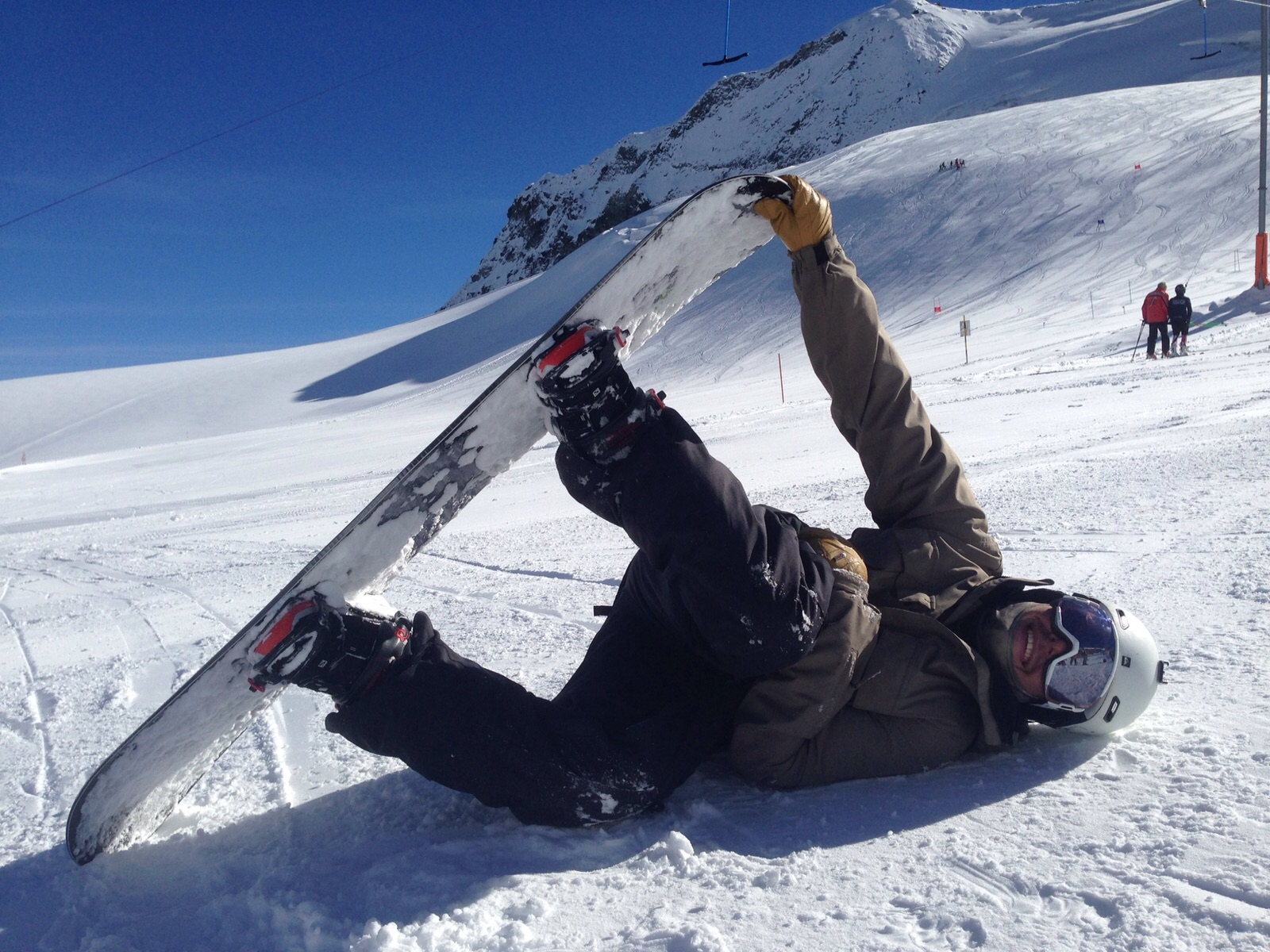 snowboarding is better than skiing