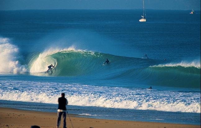 surf, beach break, Hossegor, Peak Leaders, big waves, barrelled