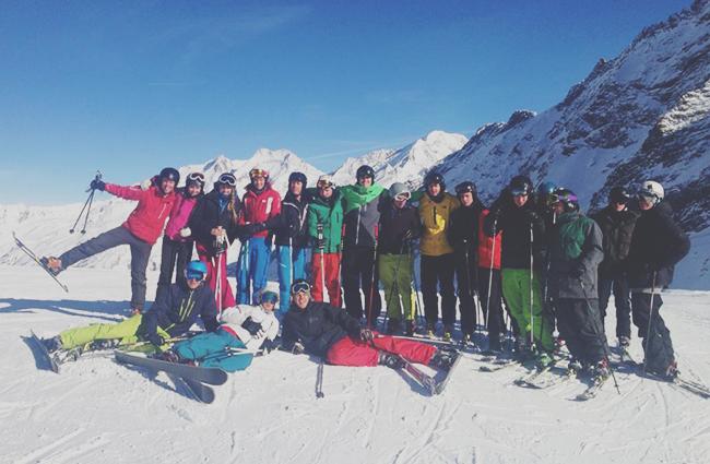 Peak Leaders, Peak Leaders Saas Fee, ski instructor course, gap year ski course, BASI, BASI level 2,