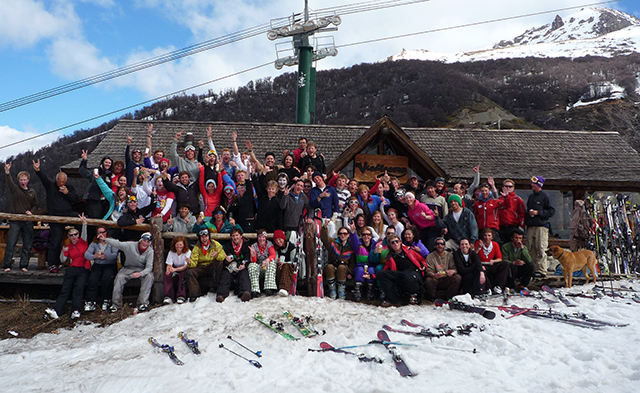 Peak Leaders in Argentina, Peak Leaders, Gap year Argentina, Cerro Catedral, Bariloche, gap year travel, experience, adventure
