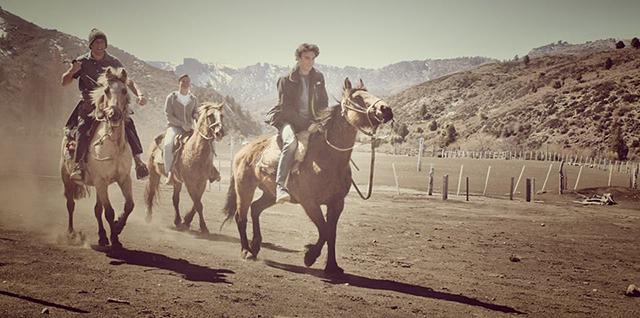 Patagonian Steppe, Horse Riding, Cuyin Manzano, Peak Leaders Argentina, Argentina gap year