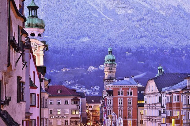 Innsbruck, Innsbruck town centre, beautiful Austria, Peak LeadersSantiago, Santiago Chile, 10 best cities to live for skiers and snowboarders, Peak Leaders; Best places to snowboard in the world.