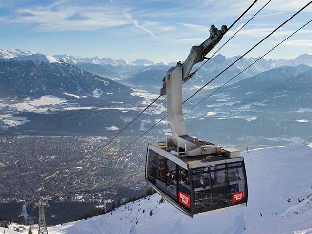Innsbruck , Nordkette Cable Car, Austria, Tyrol, Tirol, Peak Leaders