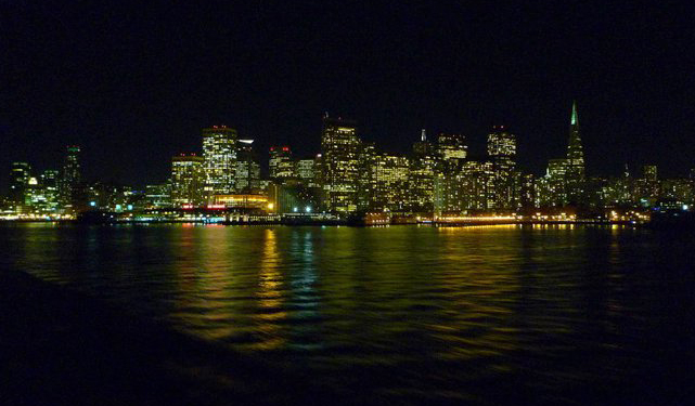 San Francisco at night, Tom Ewbank, Thomas Ewbank, best cities for skiers and boarders to live in, Peak Leaders