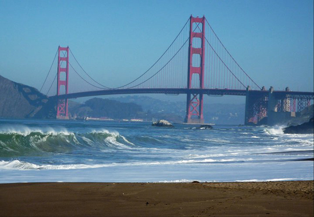 Golden Gate Bridge, San Francisco, California, best cities for skiers and snowboarders, Peak Leaders