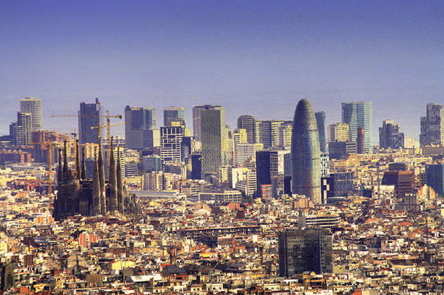 Barcelona, Spain, Catalona, best cities for skiers and snowboarders