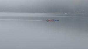 Kayaking across mercury