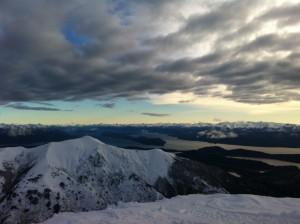 views across Bariloche from Cerro