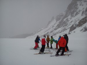 Here comes the weather_Argentina 2015 ski instructor course