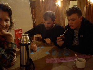 Drinking mate_Argentina 2015 ski instructor course