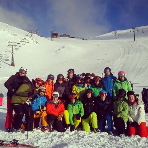 First lifts_Argentina 2015 ski instructor course
