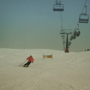 Quiet slopes_Argentina 2015 ski instructor course