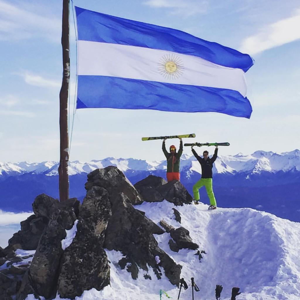 Peak Leaders Bariloche Argentina Basi Level 2 Gap Course_George and Ben