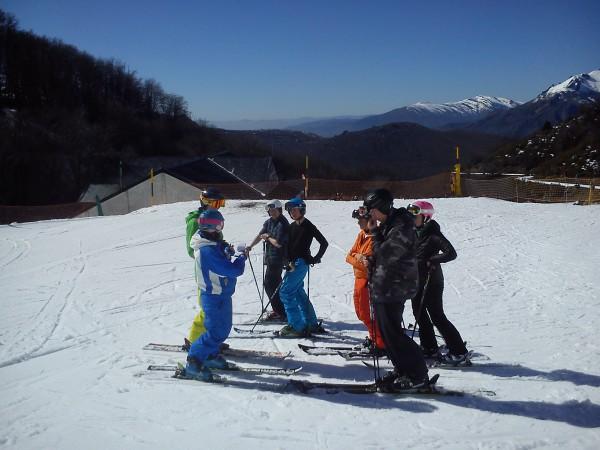 Peak Leaders Bariloche Argentina Basi Level 2 Gap Course_Lesley training