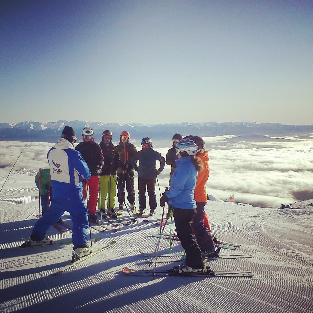 Peak Leaders Bariloche Argentina Basi Level 2 Gap Course_Mike technique