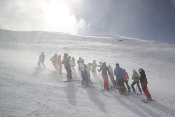 Peak Leaders Bariloche Argentina_ski instructor training course 2015_BASI group weather
