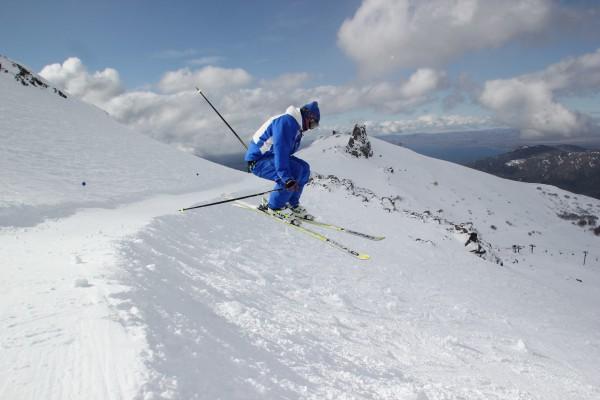 Peak Leaders Bariloche Argentina_ski instructor training course 2015_BASI Mike jump