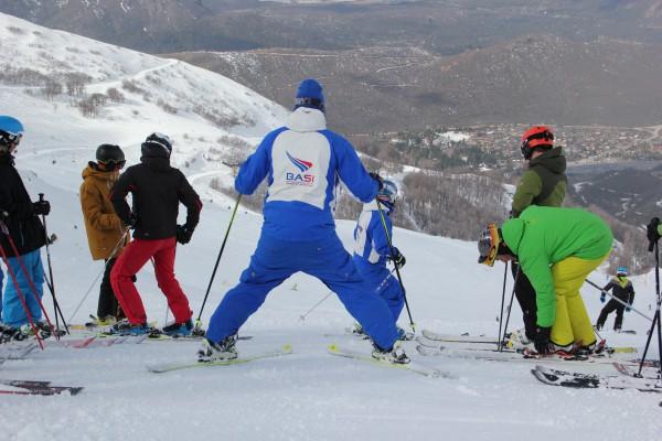 Peak Leaders Bariloche Argentina_ski instructor training course 2015_BASI group 1