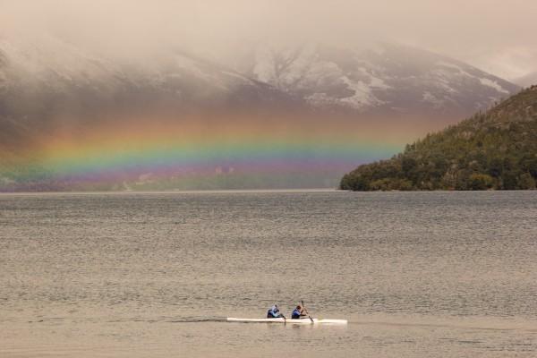 Peak Leaders Bariloche Argentina_ski instructor training course 2015_El Nino lake rainbow