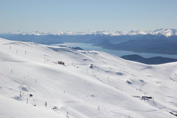 Peak Leaders Bariloche Argentina Basi Level 2 Gap Course_Cerro Catedral sunny