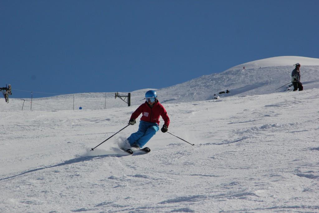 Peak Leaders Bariloche Argentina Basi Level 2 Gap Course_short turns