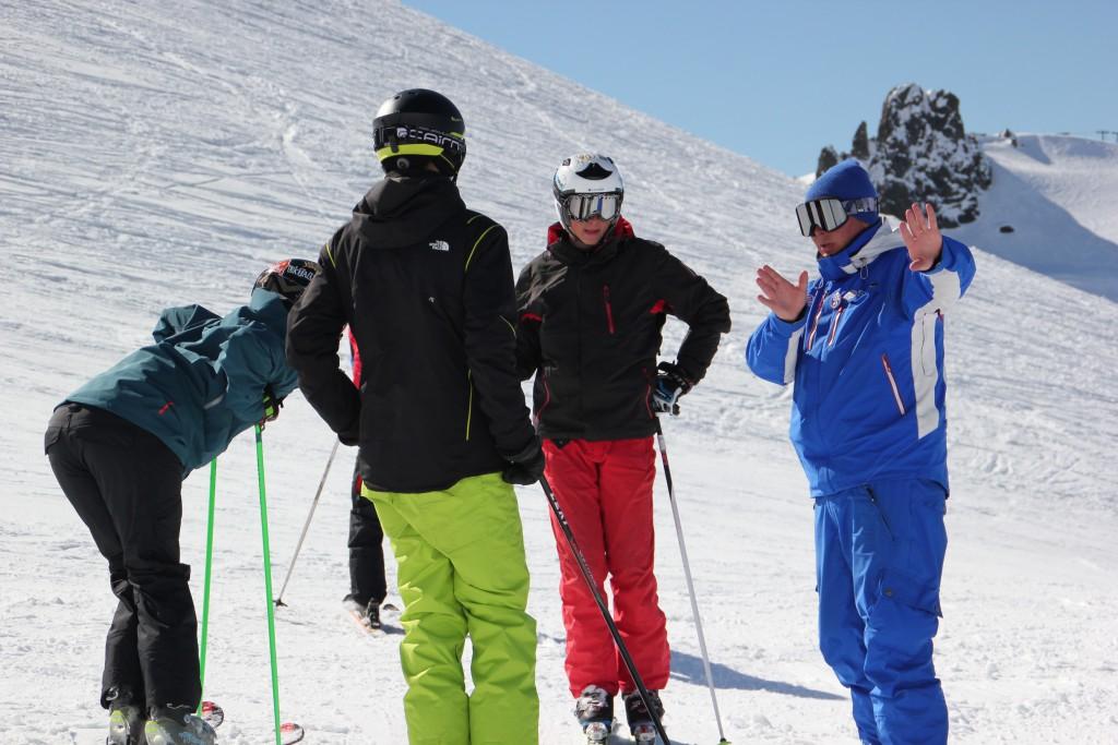 Peak Leaders Bariloche Argentina Basi Level 2 Gap Course_Mike training 2